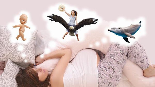Phụ nữ mang thai sẽ nằm mơ nhiều hơn vào giai đoạn giữa và cuối thai kỳ
