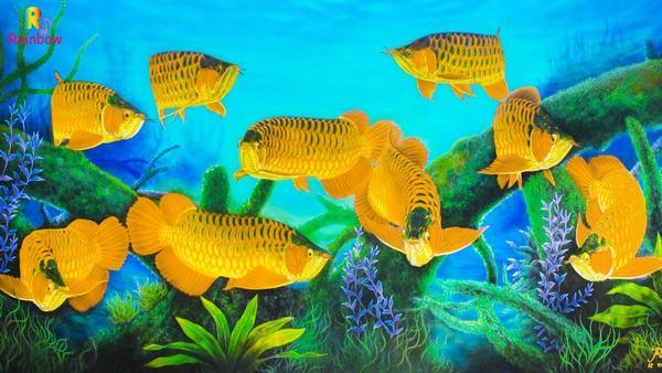 Nằm mơ thấy cá vàng bơi trong nước