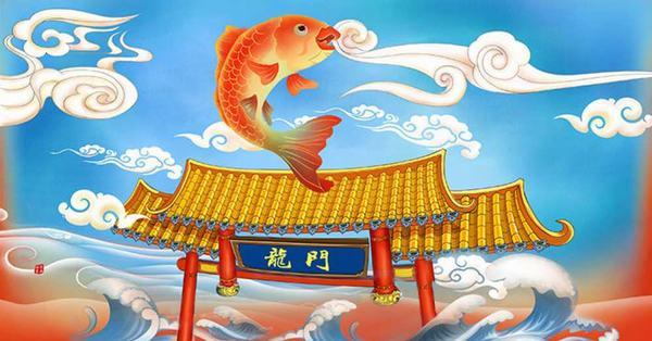 Nằm mơ thấy cá bay lên trời hóa rồng