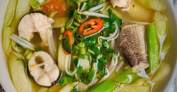 Chiêm bao nấu canh cá chuối, cá lóc