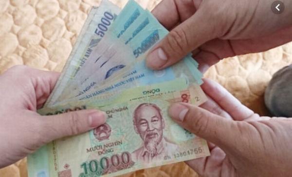 Những mệnh giá từ 10.000 đồng trở lên là tiền chẵn