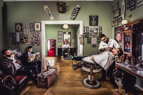 Nằm mộng thấy mình vào salon, baber shop nhưng không cắt tóc