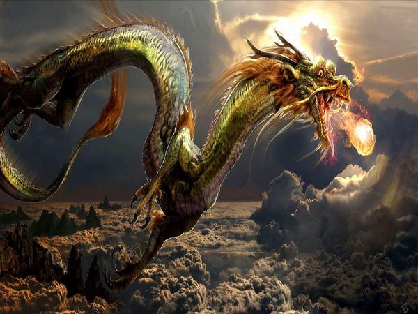 Nằm mơ thấy rồng với màu sắc: rồng vàng, rồng đỏ, rồng xanh, rồng đen rồng trắng