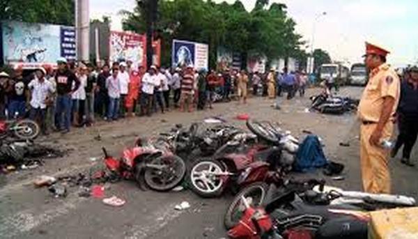 Nằm mơ thấy tai nạn xe máy đánh con gì?