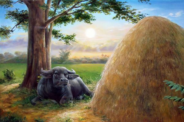 Loài trâu từ lâu được xem là loài vật biểu trưng cho tài lộc và sức khỏe dồi dào