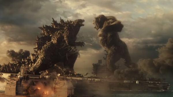 Mộng thấy khỉ đột lớn khổng lồ (Godzilla)